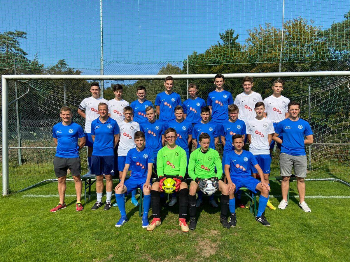 Die B-Jugend gewinnt 5:0 (2:0) gegen Prümer Land